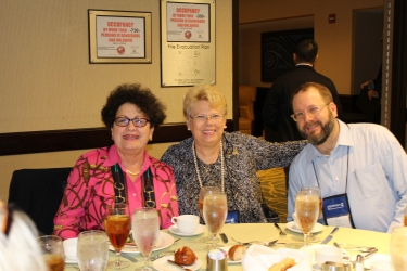 ACBSP Past-Chair, Janice Stoudemire, pictured with attendees.